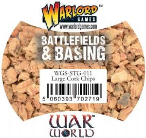 Warlord Games - Battlefields and Basing - Large Cork Chips (500ml)